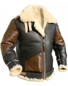 US Made Shearling B3 Flight Jackets