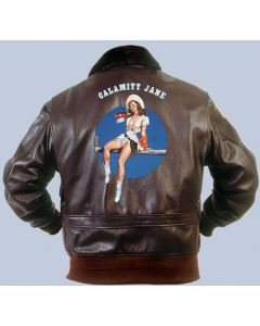 Calamity Jane Nose Art