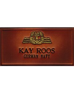 Name tag German Navy
