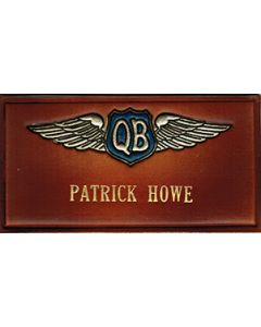 Name tag QB Wings
