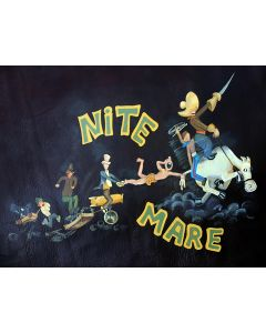 Nite Mare Nose Art