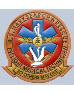 US Navy Search and Rescue Inflight Medical Technician