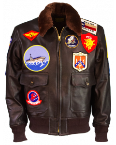 Top Gun Jacket,  'Maverick' Leather Jacket