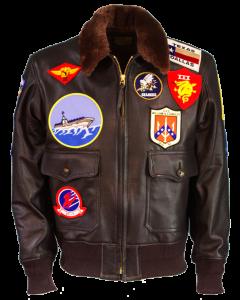 Top Gun Jacket,  'Maverick' Leather Jacket