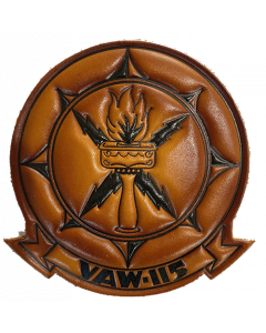 VAW 115 embossed patch