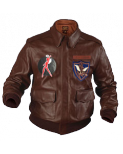 Flying Tigers A-2 jacket, Horsehide Russet.