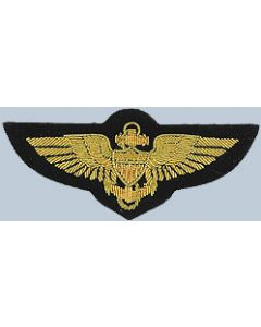 Bullion Wings Naval Aviator