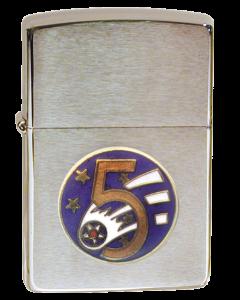 Zippo WWII 5AF emblem
