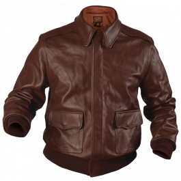 5e44676fa07 Authentic A2 Leather Flight Jackets